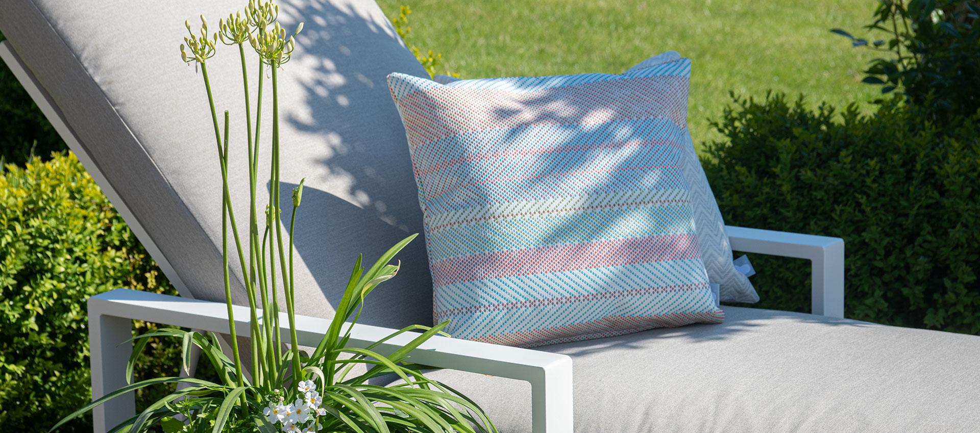 Maze - Outdoor Scatter Cushion - Bora Bora Multi Coloured