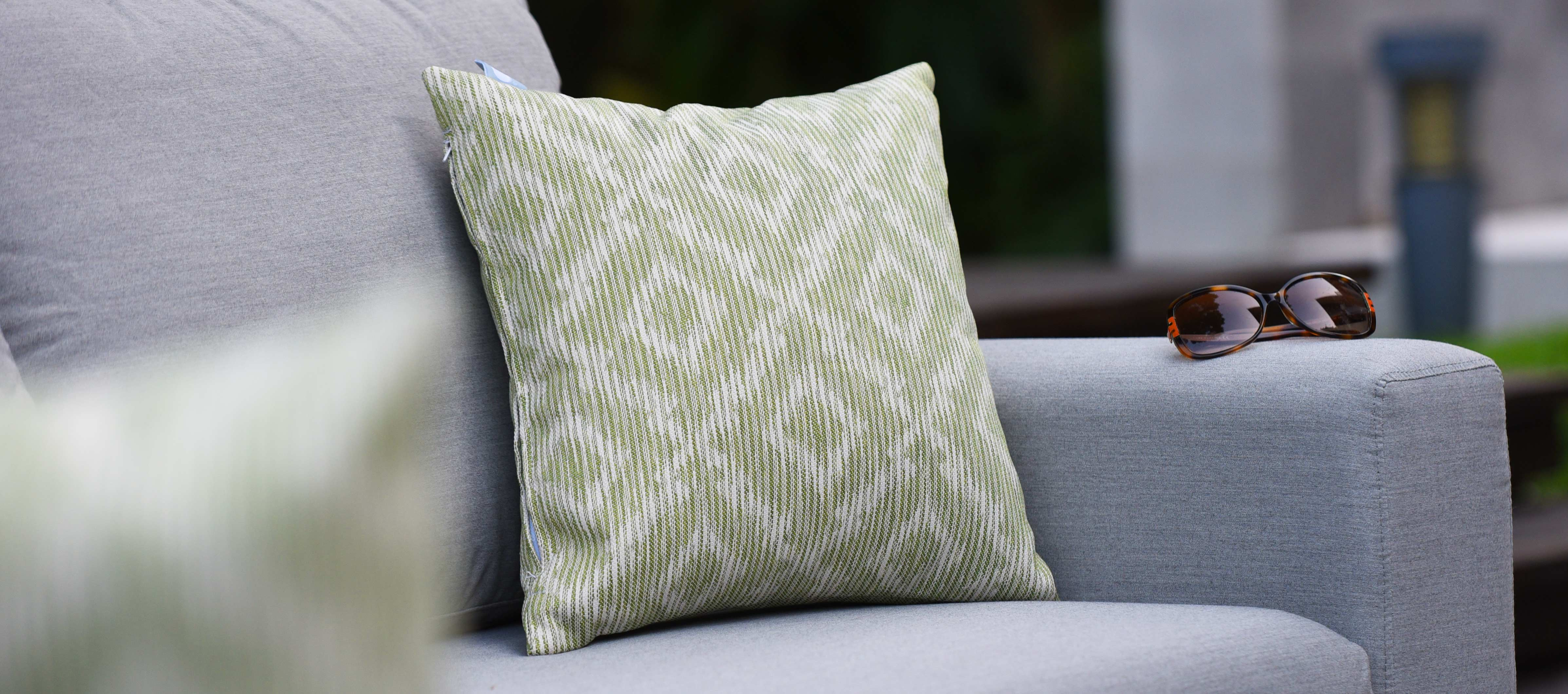 Maze Lounge - Pair of Outdoor Scatter Cushion - Santorini Green
