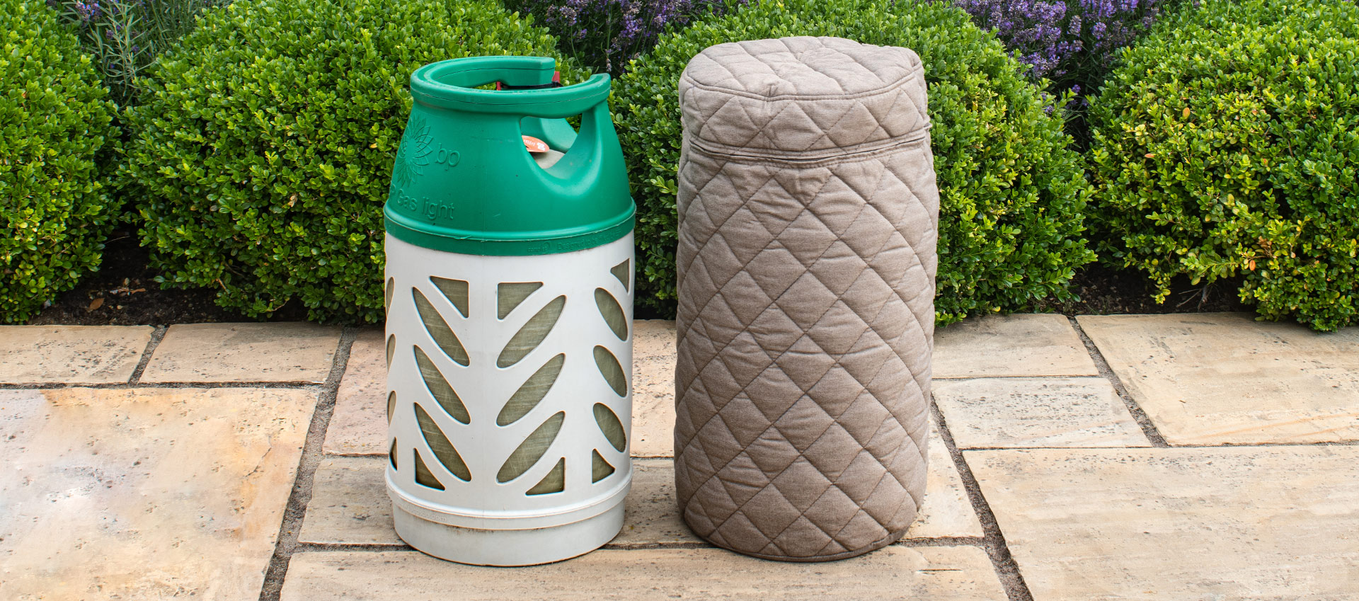 Maze Lounge - Outdoor Fabric 10KG Gas Bottle Cover - Taupe